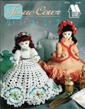 Crochet Tissue Cover Doll Girls Annies Attic 87T54 - $4.94