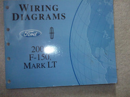 2006 Ford F-150 F150 Lincoln Mark LT Electrical Wiring Diagram Manual EWD - $98.99
