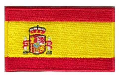 Spain Espana Embroidered Patch - 2 1/4 x 1 1/4 ""