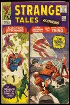 STRANGE TALES #133 1965-DR STRANGE-HUMAN TORCH DITKO VG - $31.04