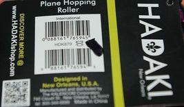 Hadaki Brand HDK879 Multi Color Chevron Plane Hopping Roller Suitcase image 10