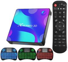 X88 Pro 10 Android 11 TV Streaming Media Player Quad-Core 4GB RAM 32GB ROM - $62.95