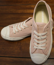 Womens Converse Jack Purcell Ox Dusk Pink/Egret Sneakers 157790C Size 6.5 Unisex - $65.44