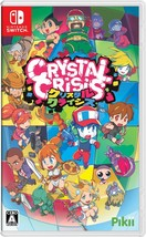 USED Nintendo Switch Pikii Crystal Crisis Switch Japan Import Free Shipping - $21.80