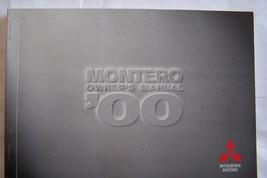 2000 mitsubishi montero owners manual parts service original new - $34.99