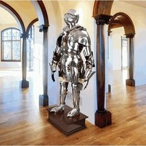 NauticalMart Medieval Knight Gothic Full Suit of Armor - $899.00