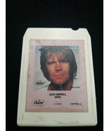 8 Track Tape Glen Campbell Basic Capitol Records Preloved Tested - $9.70