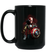 Stan Lee All Superheroes BM15OZ 15 oz. Black Mug - $18.00