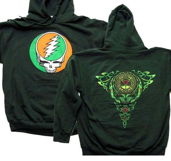 Grateful Dead Sweatshirt - Grateful Dead Celtic Hoodie - Grateful Dead Stealie - $39.95 - $45.95