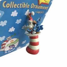 1997 Vintage Enesco Cat In The Hat Dr. Seuss Collectible Christmas Ornament New - $9.46