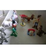 DISNEY TOY STORY LOT 11 WOODY,JESSE, DOG HORSE,HAMM,BO PEEP,POTATO HEAD,... - $15.72