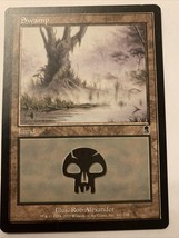 MTG Magic The Gathering Card Swamp Land 2001 - $0.98