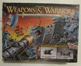Vintage Weapons and Warriors Castle Combat Set 1994 Board Game Pressman #9703 - $29.88