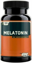 Optimum Nutrition Melatonin 3mg (100 Tabs) New/Factory Sealed and Free Shipping - $5.87
