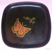 """EAMES ERA MID CENTURY MODERN-- COUROC BUTTERFLY SQUARE TRAY 8 1/4"""" - $27.45"""