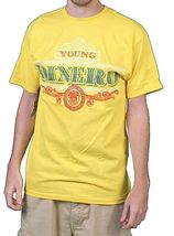 Raza Mens White or Yellow Young Dinero Fu$k the System US President T-Shirt NWT image 4