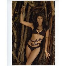 Elizabeth Hurley Very Cute Signed 8x10 Photo Certified Authentic PSA/DNA COA - $138.59