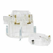 CR6953CL HEI OEM Distributor Cap Rotor and Coil Cover Kit 6 Cylinders Clear image 2
