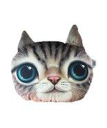 George Jimmy 3D Cartoon Head Shape Pillow Car Sofa Chair Back Cushion-Cat - $22.95