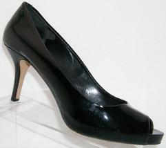 on 4812 slip Camuto 5B heel leather 11 Vince patent peep 'Kira' black toe xwUgw8Z7qT