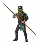 Muscle Chest Donatello Mutant Ninja Turtle Child Costume by Rubies, sz. ... - £18.92 GBP