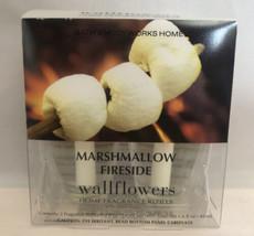 Bath & Body Works 2 Pack Marshmallow Fireside Wallflower Fragrance Oil B... - $12.37