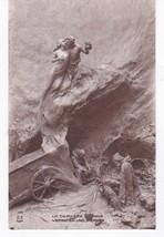 Le Derniere Unuse Vintage Postcard Artist Signed Mastoianni - $4.98