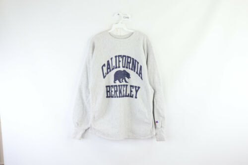 Primary image for Vintage 90s Champion Reverse Weave Mens Large California Berkeley Sweatshirt
