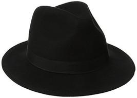 Scala Classico Men's Crushable Felt Safari Hat, Black,Medium - $54.81