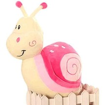 PANDA SUPERSTORE Set of 2 Snail Doll Plush Toys Creative Children's Toys(Pink)
