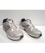 Nike Dart 9 Men's Running Shoes Size 11.5 Silver Black White Athletic 445140-001 - $8.90