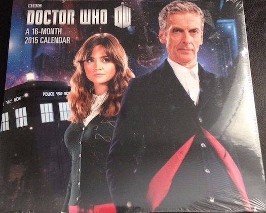 Doctor Who Tv Series 16 Month 2015 Mini Calendar 17 7 Cm X 16 4 Cm