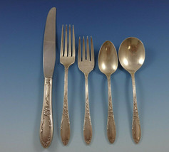 Virginian by Oneida Sterling Silver Flatware Set For 8 Service 44 Pieces - $2,200.00