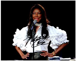 NATALIE COLE SIGNED AUTOGRAPHED 8X10 PHOTO w/ Certificate of Authenticity  - $35.00