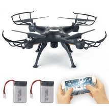 FPV Drone with Live Video Camera, Lamaston X5SW-1 2.4G RC Quadcopter Kits - $35.99