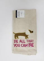 Mainstays Embroidered Hand Towel - New - Be All That You Can Be - $9.99