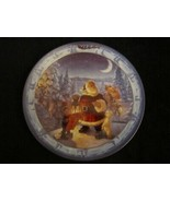 CHECKING IT TWICE collector plate SCOTT GUSTAFSON Santa's On His Way CHR... - $47.50