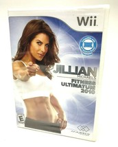 New Jillian Michaels Fitness Ultimatum 2010 (Nintendo Wii, 2009) Video Game - $3.99