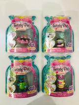 4 Twisty Petz Treatz Series 4 Swiss Roll, Dounts, Ice Cream, Watermelon  - $42.56
