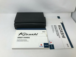 2012 Suzuki Kizashi Owners Manual Handbook Set with Case OEM Z0A0396 - $28.95