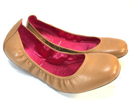ROCKPORT smooth brown leather ballet flats w/ Adiprene insoles 9.5 FREE ... - $24.70