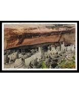 Cliff Palace Postcard Colorado Mesa Verde National Park Cliff Dewellers ... - $14.99