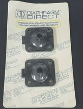 LOT OF 2 NEW DIAPHRAGM DIRECT DD07-STFM DIAPHRAGMS SIZE: 3/4'' / DN 20