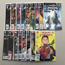 Lot of 17 Batman and Robin (2011 2nd Series) from #1-38 VF Very Fine - $54.45