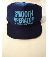 Smooth Operator Nicholson Steam Trap Trucker Style Snapback Hat Cap Mesh... - $19.50