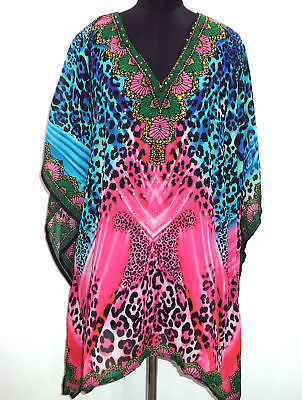 9a01ac2067 Georgette Sheer Embellished Kaftan Tunic, and 50 similar items. 1