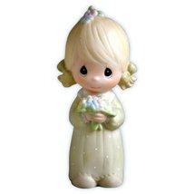 Precious Moments Wedding Bridesmaid Gifts Junior Bridesmaid Figurine E-2845 - $30.00