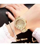Fashion Women Ladies PU Leather Rhinestone Analog Quartz Wrist Watches N... - $11.75