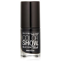 Maybelline Color Show Back to Black Nail Polish, 704 Smoky Black  - $6.92