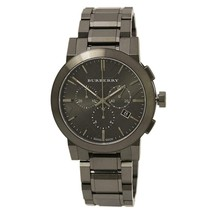 Burberry BU9354 Ion Plated Sport Swiss Made Mens Watch - $252.68 CAD